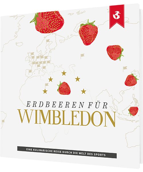 """Cover """"Erdbeeren für Wimbledon"""""""