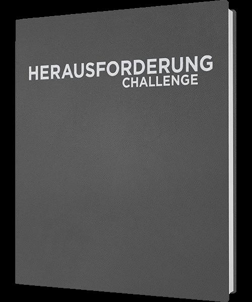 "Cover ""Herausforderung GOLD Ausgabe"""