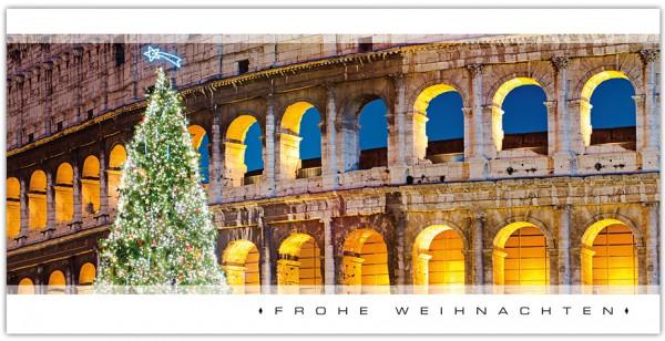 """Grußkartenset """"Frohe Weihnachten (Colosseum)"""""""