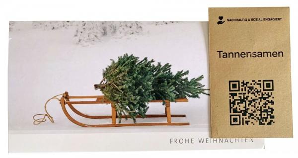 """Grußkartenset """"Weihnachtsbaum"""""""