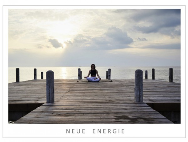 "Motivationsposter ""Neue Energie"""