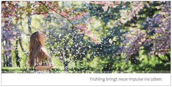 """Grußkarte """"Frühlingsgruß"""""""