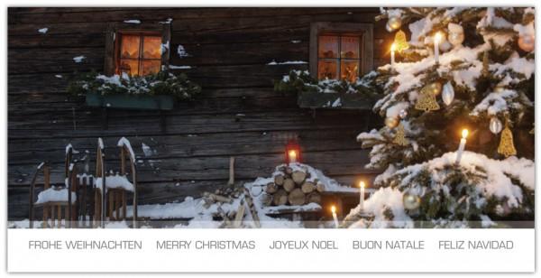 """Grußkartenset """"Frohe Weihnachten (Mehrsprachig)"""""""