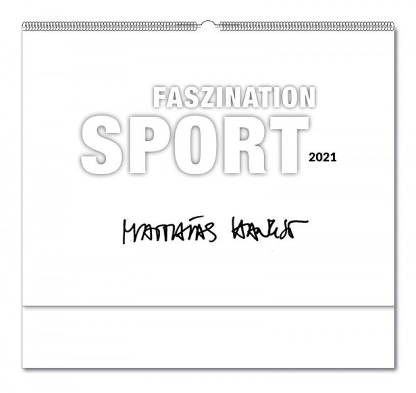 "Kalender ""Faszination Sport"" 2021"