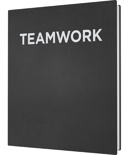 "Cover ""Teamwork GOLD"""
