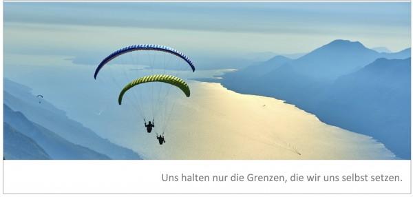 """Grußkarte """"Paraglider"""""""