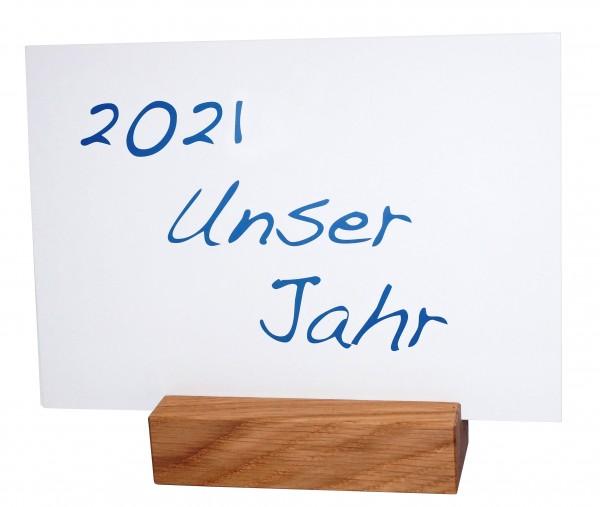 """Tischkalender """"Unser Jahr 2021"""""""