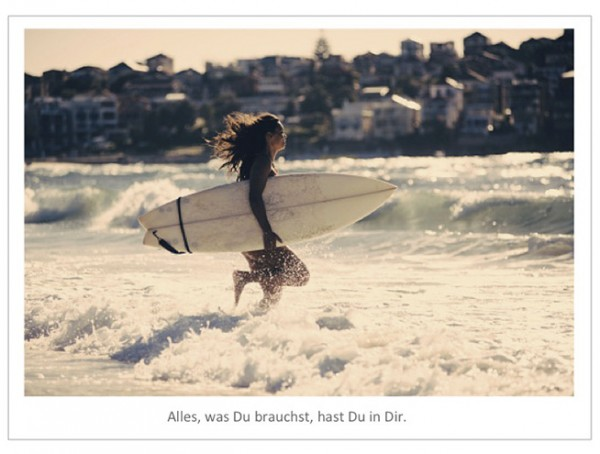 "Motivationsposter ""Alles was Du brauchst"""