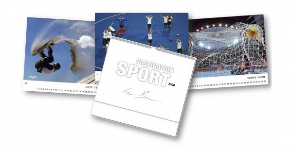"2+1 gratis Kalender ""Faszination Sport 2020"""