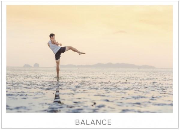 "Motivationsposter ""Balance"""