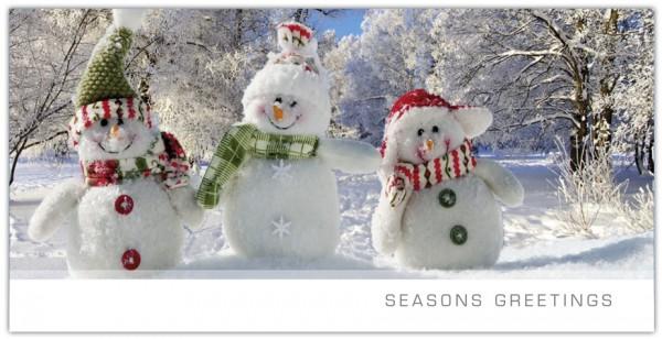 """Grußkartenset """"Seasons Greetings"""""""