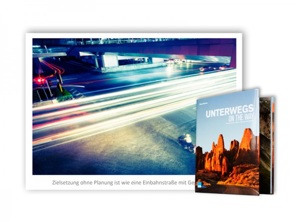 "Exklusives Angebot Bundle ""Unterwegs"" + Wandbild ""Traffic"""
