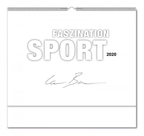 Deckblatt Kalender Faszination Sport 2020